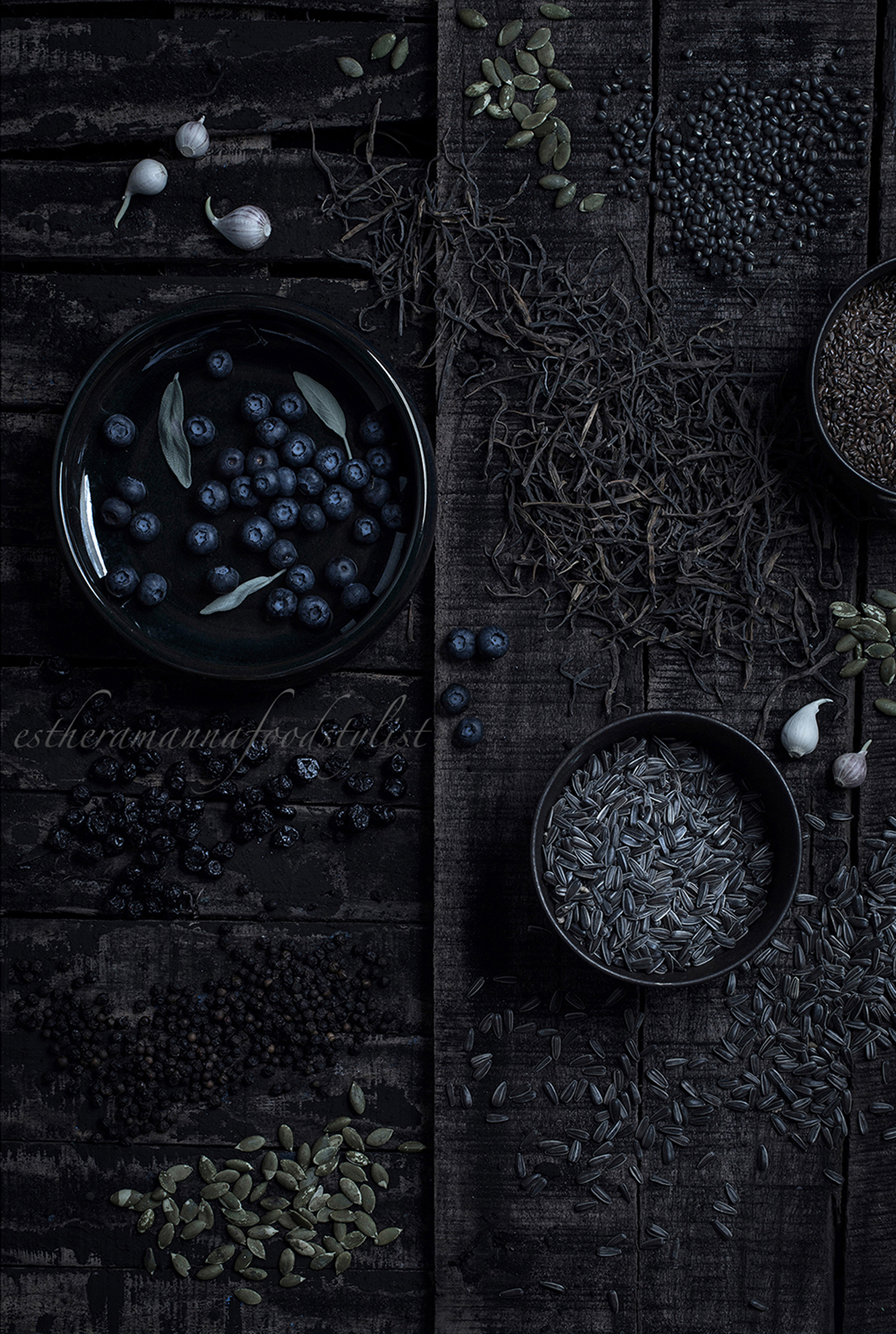 Chiaroscuro-A play with light and shadow in food.